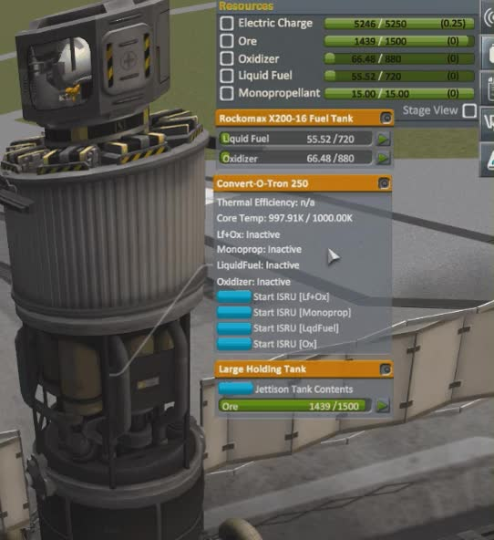 Watch and share KSP - A Single Convert-O-tron's Mode Opperate Simultaneously GIFs by ZeroGravitas on Gfycat