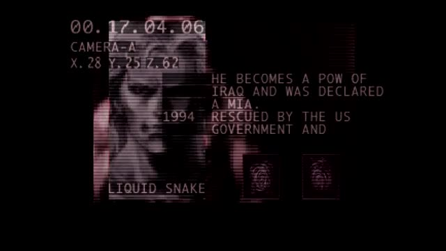 Liquid Snake - Briefing