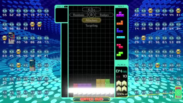 Watch 1st without holding a piece! GIF by gdcons (@gdcons) on Gfycat. Discover more tetris99 #gdcons #nintendoswitch #tetris GIFs on Gfycat
