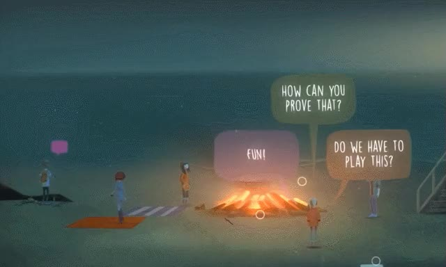 Watch and share Oxenfree Dialogue GIFs by Wes on Gfycat