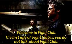 Watch this fight club GIF on Gfycat. Discover more Brad Pitt, David Fincher, Edward Norton, El Club de la Lucha, Fight Club, Rules of Fight Club, brad pitt, david fincher, edward norton, el club de la lucha, fight club, movies, rules of fight club GIFs on Gfycat