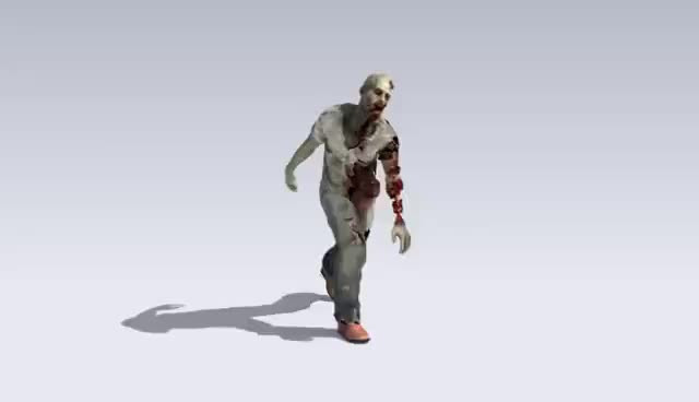 Watch and share Zombie Walk Cycle Animation GIFs on Gfycat