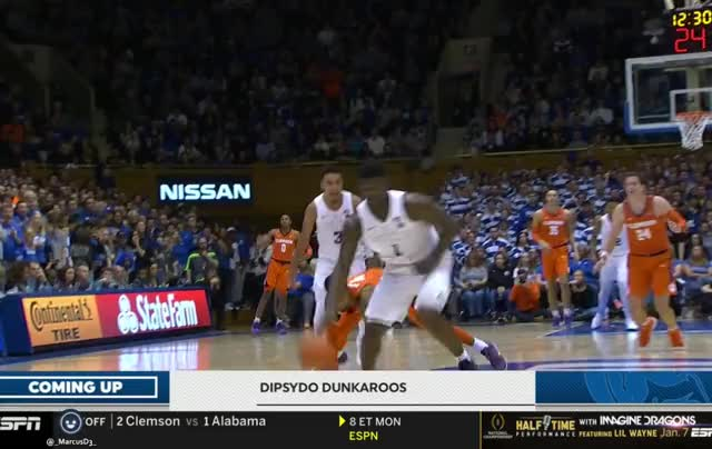 Watch and share Zion Williamson 360 Dunk GIFs by MarcusD on Gfycat