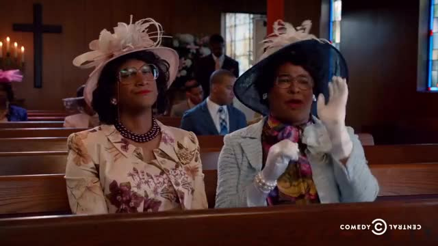 Watch Key & Peele - Georgina and Esther and Satan - Uncensored GIF on Gfycat. Discover more Church, Easter, Esther, comedian, comedy, exorcism, funny, georgina, go, here, key, lucifer, peele, satan, we GIFs on Gfycat