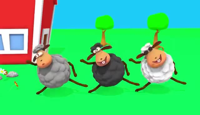 Watch and share Baa Baa Black Sheep And Many More Kids Songs | Nursery Rhymes Collection GIFs on Gfycat