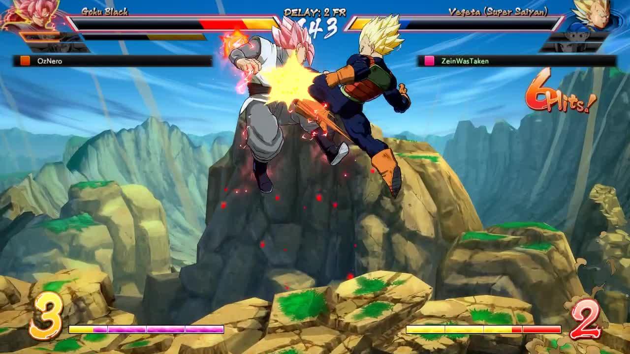 dbfz, dragon ball fighterz, ok superdash GIFs