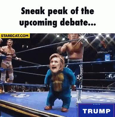Debate Trump GIFs