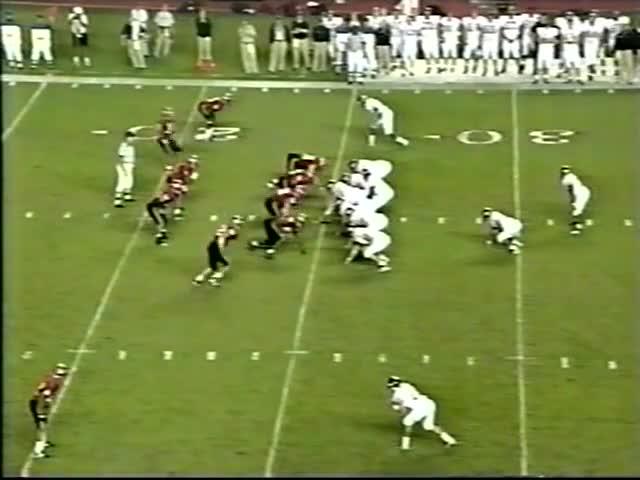 1999, ESPN, Hokies, Rutgers, Tech, VT, Vick, Virginia, Virginia Tech, 1999 Virginia Tech @ Rutgers GIFs