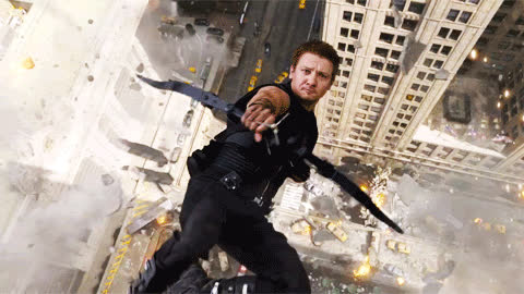archery, avengers, bow and arrow, hawkeye, bow and arrow GIFs