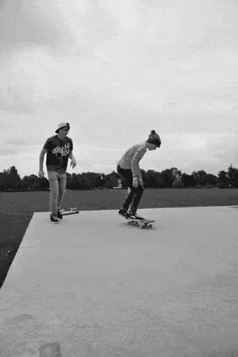 Watch and share Black And White GIFs and Skater Guys GIFs on Gfycat