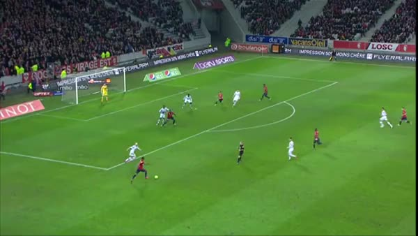 Watch and share Fantastic 1-touch Teamplay Goal By Lille GIFs by anasie10 on Gfycat