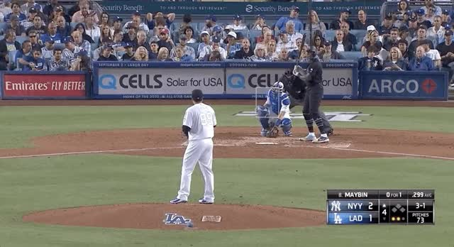 Watch and share Los Angeles Dodgers GIFs and New York Yankees GIFs by devanfink on Gfycat