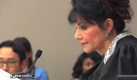 Watch Judge Rosemarie Aquilina paper drop Larry Nassar sentencing GIF by MarcusD (@-marcusd-) on Gfycat. Discover more related GIFs on Gfycat