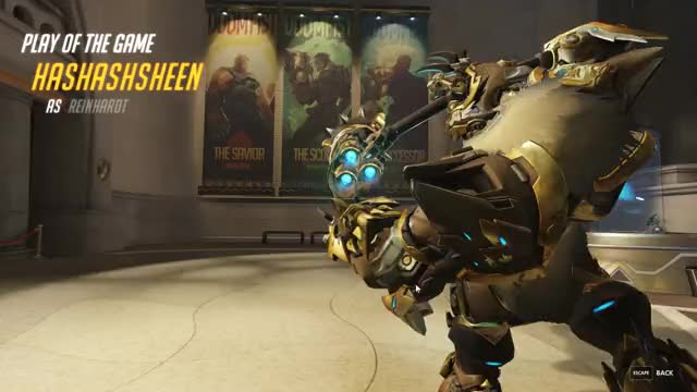 Watch and share Hammerdown GIFs and Overwatch GIFs by Hashashsheen on Gfycat