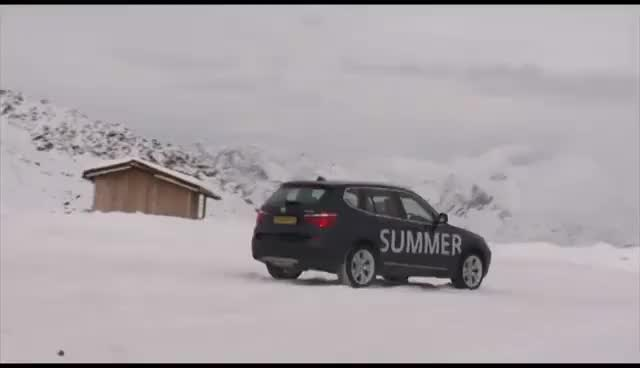 Watch and share The New BMW X3 Winter Brake Test Summer Vs Winter Tires GIFs on Gfycat