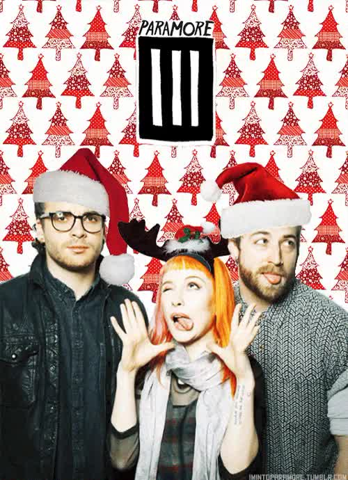 Watch MERRY FUCKING CHRISTMAS! GIF on Gfycat. Discover more band blog, bands, christmas, cold, december, happiness, happy new hear, hayley, holyday, merry christmas, music, paramore, riot, snow, williams, winter, yeee GIFs on Gfycat