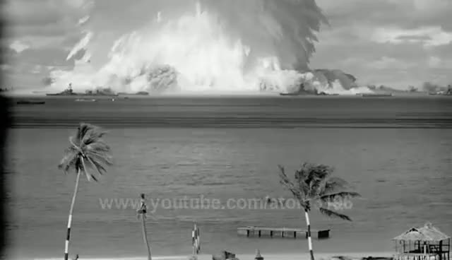 Watch and share HD High Quality Underwater Test Explosion Blast Atomic Bomb Testing 1946 GIFs on Gfycat