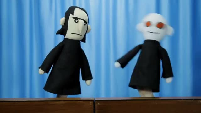 The weird review interview with severus snape of the potter puppet pals
