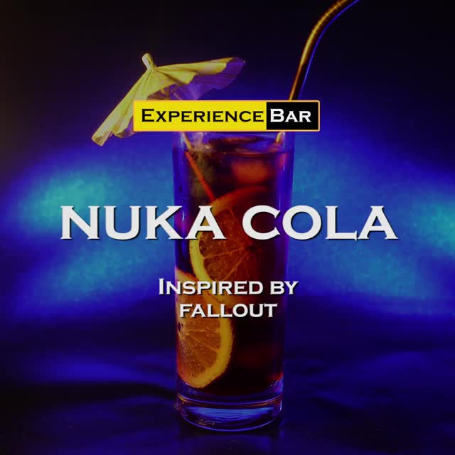 Watch Nuka Cola cocktail | Fallout GIF by Jack Medland-Slater (@jackmedlandslater) on Gfycat. Discover more cocktails, fallout, fallout 4, fallout 76, fallout new vegas, gaming, recipe GIFs on Gfycat