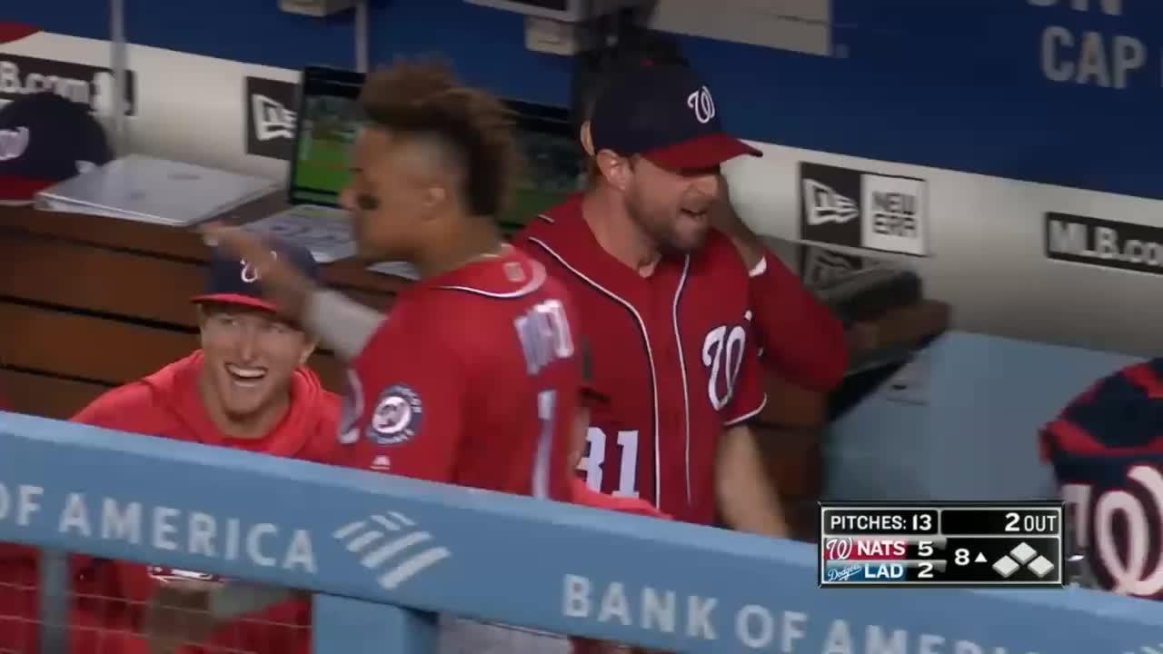 baseball, nationals, scream, washington nationals, max scherzer yelling GIFs