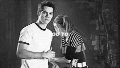 Watch and share Lydia And Stiles GIFs and Stiles Stilinski GIFs on Gfycat