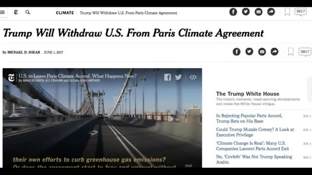 CERN At Bilderberg  Trump Withdraws From Paris Climate Deal… GIFs