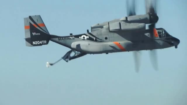 Watch Bell Boeing V-22 Aerial Refueling Proof of Concept Flight GIF on Gfycat. Discover more MilitaryGfys GIFs on Gfycat