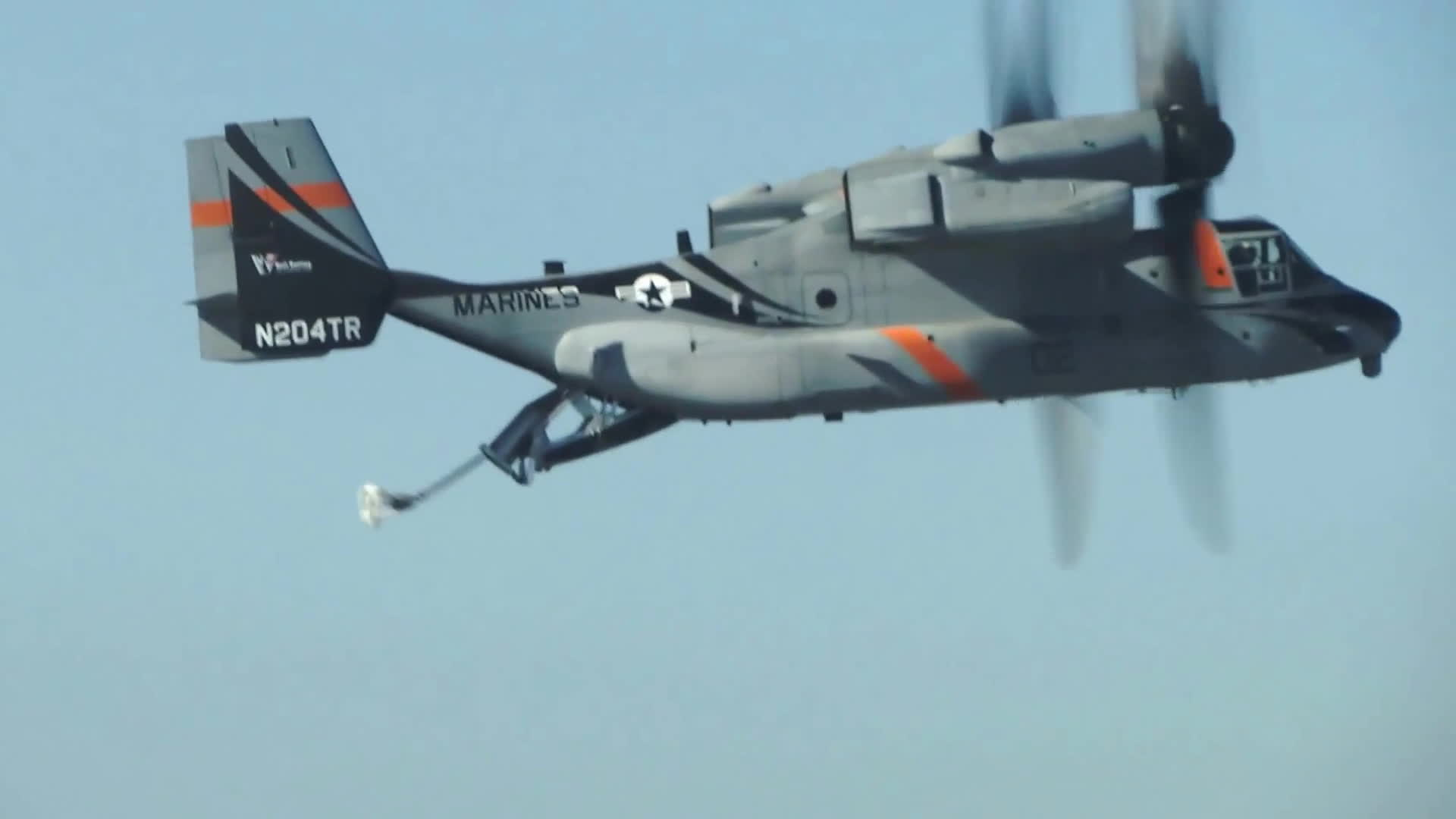 MilitaryGfys, Bell Boeing V-22 Aerial Refueling Proof of Concept Flight GIFs