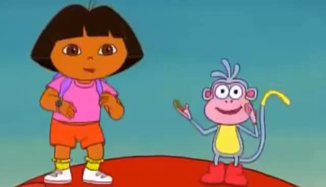 """Watch and share Dora The Explorer """"We Did It"""" Song GIFs on Gfycat"""