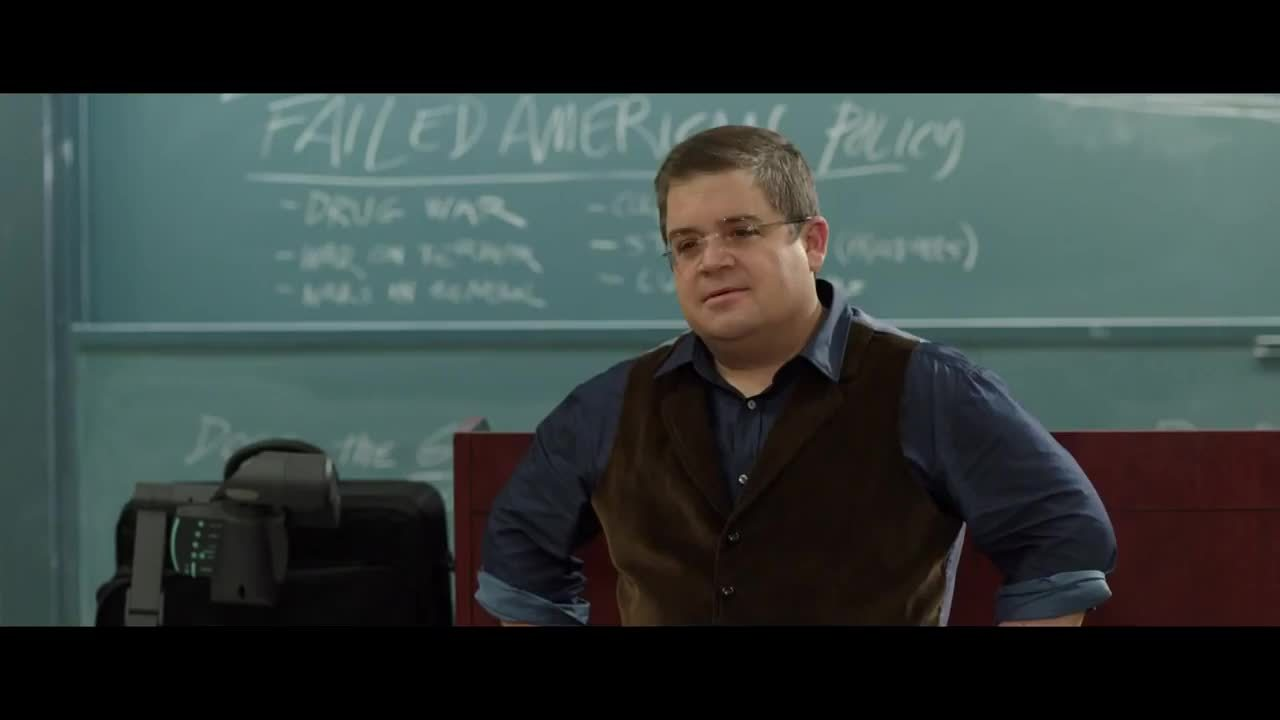 exactly, patton oswalt, thats exactly the answer i wanted GIFs