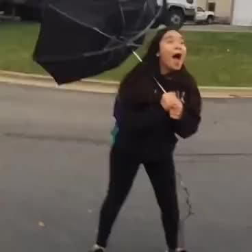 Watch and share Umbrella GIFs on Gfycat