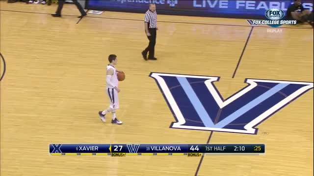 Watch and share NCAA Basketball 2015.12.31. (6) Xavier Musketeers @ (17) Villanova Wildcats GIFs on Gfycat
