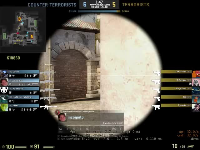Watch and share How To Bait A Wallhacker (reddit) GIFs on Gfycat