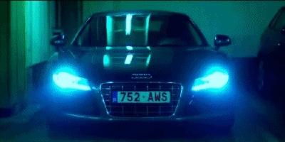 Lights, audi, garage, Audi GIFs