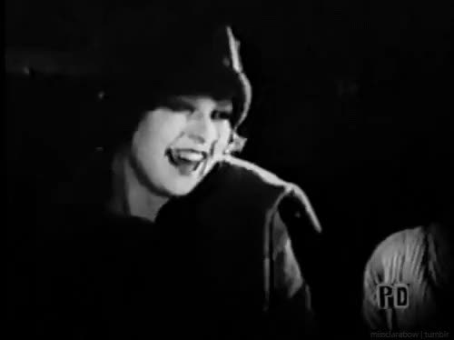 Watch Clara Bow| Capital Punishment (1925) GIF on Gfycat. Discover more Capital Punishment, SHE'S SO CUTE OMFG, clara bow, gifs GIFs on Gfycat