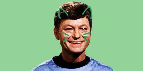 Watch and share Star Trek Tos GIFs and Leonard Mccoy GIFs on Gfycat