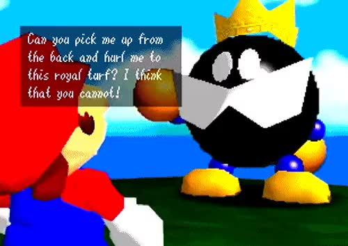 Watch and share Bob Omb Battlefield GIFs and Super Mario 64 GIFs on Gfycat