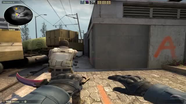 Watch Hitboxproblem de_overpass GIF by CrystalChris @ YT (@crystalchris) on Gfycat. Discover more csgo GIFs on Gfycat