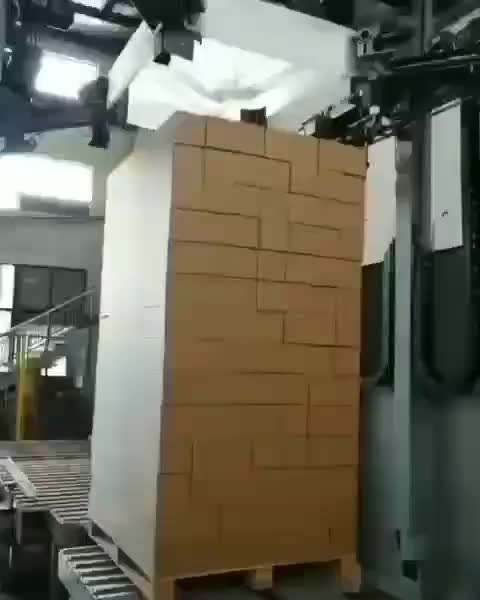 Stretch wrapping machine in action! 🙃 GIFs