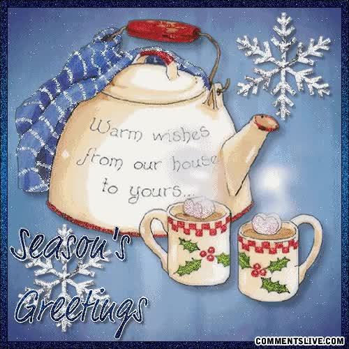 Watch and share Seasons Warm Wishes Picture GIFs on Gfycat