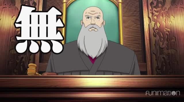 Watch and share Ace Attorney Not Guilty GIFs by Funimation on Gfycat