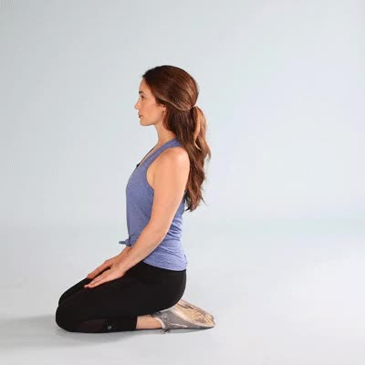 Watch and share 400x400-Seated Shin Stretch GIFs by Healthline on Gfycat