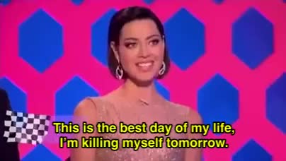 Watch and share Aubrey Plaza GIFs and Drag Race GIFs by apothanein on Gfycat