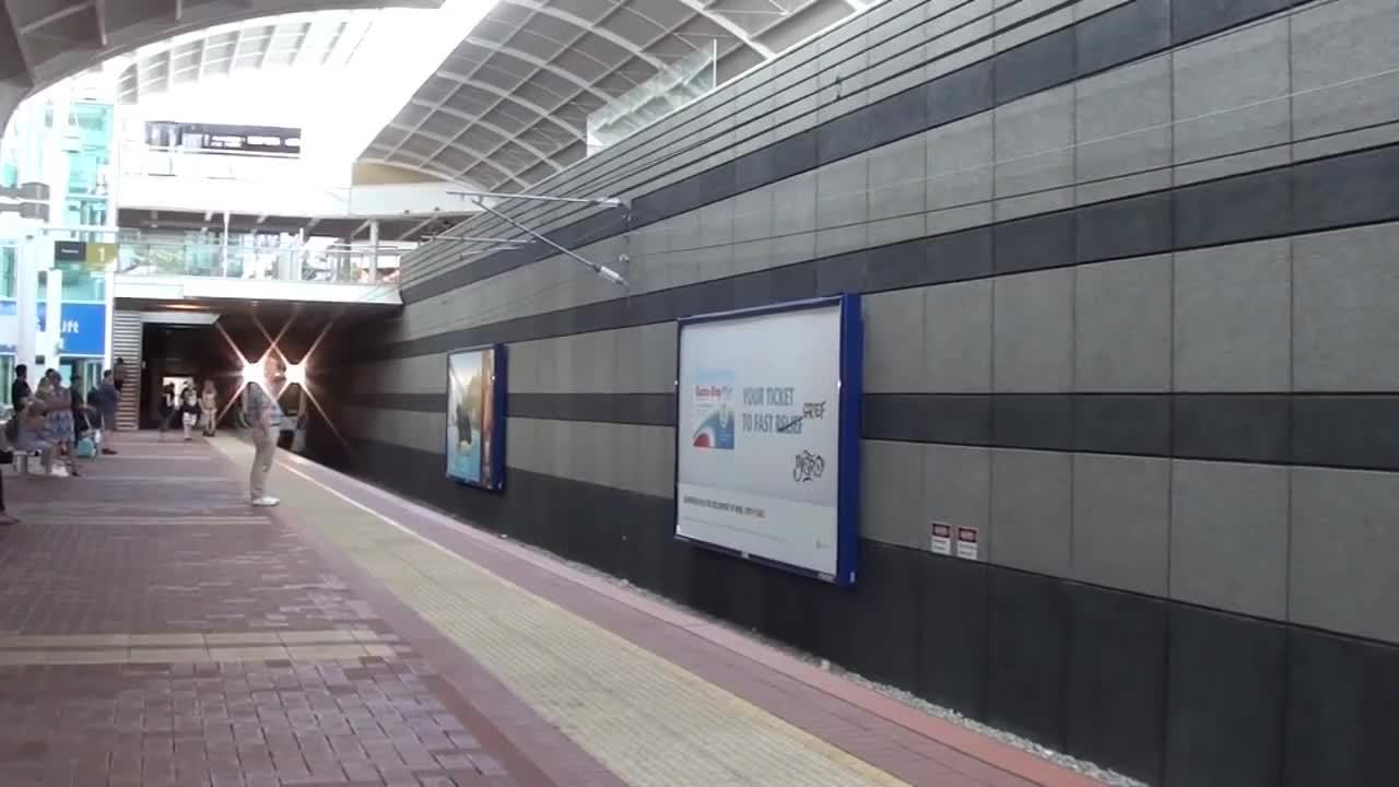 Bombardier, australia, joondalup, perth, transdev, transperth, Trains and buses at Joondalup - Perth Transport GIFs