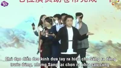 Sau lùm lùm tranh chỗ của đồng nghiệp, fan tung full clip cho thấy Trịnh Sảng không sân si như người khác vẫn nghĩ