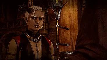 Watch and share Inquisitor Adaar GIFs and Sema Adaar GIFs on Gfycat