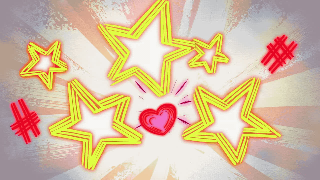animation, cartoon, hearts, locked in love, mickey mouse, Heart Cartoon Animation GIFs