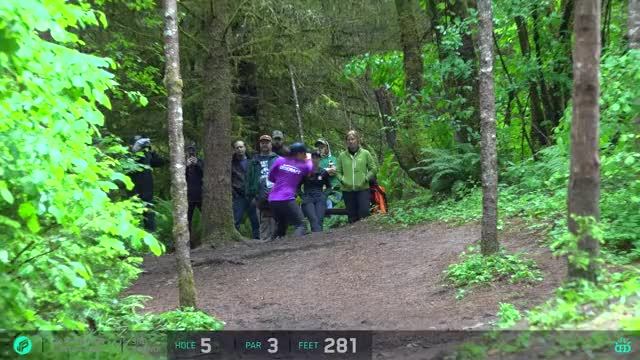 Watch 2017 Beaver State Fling | 3rd Round, Front 9 | Pierce,Allen,Jenkins,Hokom GIF by Ultiworld Disc Golf (@ultiworlddg) on Gfycat. Discover more related GIFs on Gfycat