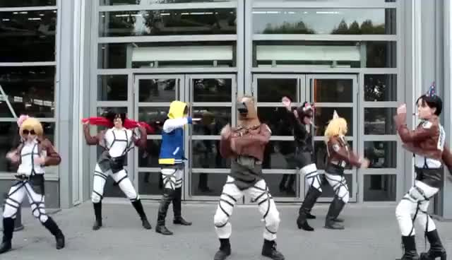 Watch SnK Harlem Shake GIF on Gfycat. Discover more AoT, Attack on Titan, Harlem Shake, Shingeki no Kyojin, SnK GIFs on Gfycat