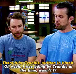 Watch and share Always Sunny Gif GIFs and Rob Mcelhenney GIFs on Gfycat
